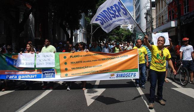 Cerca de 500 servidores participaram da assembleia - Foto: Sindseps | Divulgação
