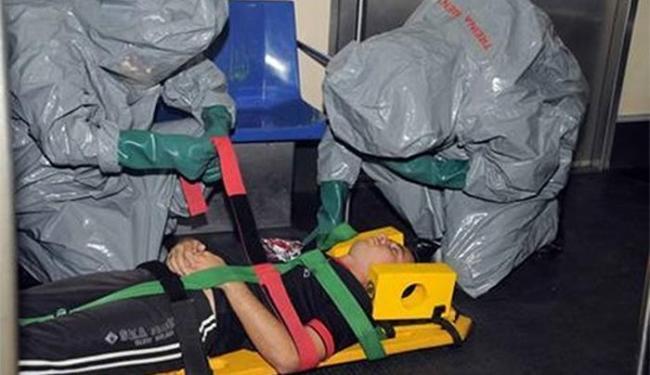 Simulação de ataque químico prepara agentes de segurança para a Copa - Foto: Divulgação l Portal da Copa