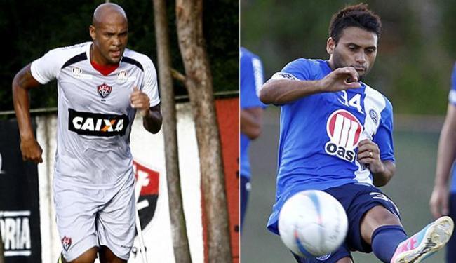 Souza disputará seu primeiro Ba-Vi pelo Leão; Maxi calibra pontaria para desencantar pelo Tricolor - Foto: Margarida Neide e Eduardo Martins | Ag. A TARDE