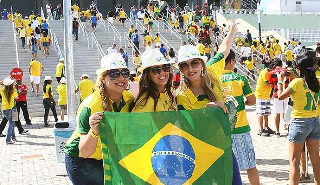 Maior parte das entradas ficou com torcedores brasileiros - Foto: Fernando Amorim | Ag. A TARDE