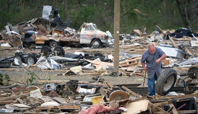 Mortes foram registradas em seis estados no centro e no sul dos Estados Unidos - Foto: Agência Reuters