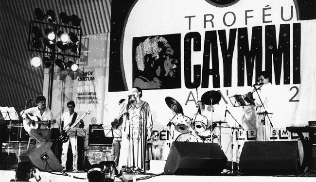 Dori, Nana e Danilo Caymmi durante apresentação no Ano 2 (1986) - Foto: Arquivo Ag. A TARDE
