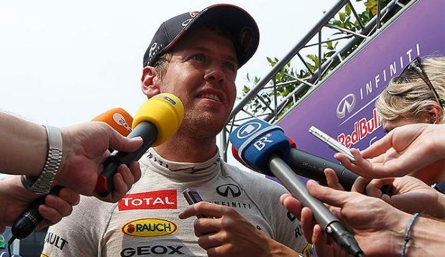 Equipe do tetracampeão Vettel já mostrou evolução no GP da Malásia - Foto: Edgar Su l Reuters