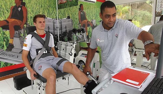 Alemão fez exames físicos no Barradão - Foto: Divulgação l E.C. Vitória