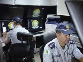 Polícia faz demonstração de equipamentos de tecnologia da informação voltados à segurança no Mundial - Foto: Fábio Rodrigues Pozzebom l Agência Brasil