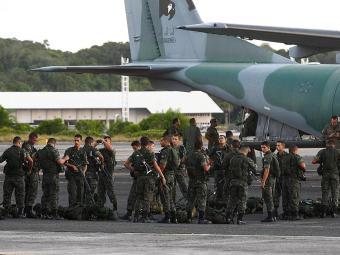 Cerca de 5 mil homens das forças de segurança estaduais e federais na cidade - Foto: Eduardo Martins | Ag. A TARDE