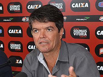 O dirigente chegou em abril para substituir Raimundo Queiroz - Foto: Francisco Galvão l Divulgação l E.C. Vitória