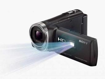 Filmadora pode projetar em um telão de até 100 polegadas - Foto: Divulgação
