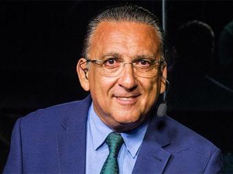 O narrador e apresentador esportivo ganha R$ 5 milhões por mês - Foto: TV Globo | Reprodução