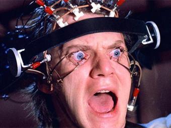 Alex (Malcolm McDowell), protagonista do filme de 1971 - Foto: Divulgação