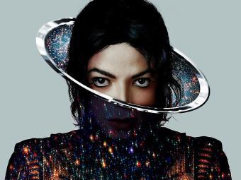 Capa do segundo álbum póstumo de Michael Jackson,