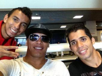 O trio foi relacionado por Marquinhos Santos para enfrentar o Flu, em Barueri - Foto: Divulgação   E.C. Bahia