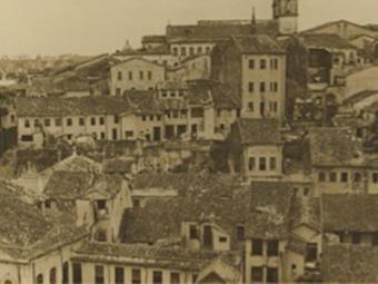 Imagem do bairro da Sé, em Salvador, do arquivo de Mário Leal Ferreira - Foto: Arquivo Mário Leal Ferreira
