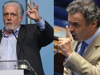 Wagner e Aécio trocam críticas durante encontro empresarial em Comandatuba - Foto: Fotos: Lúcio Távora | Ag. A TARDE e Agência Brasil