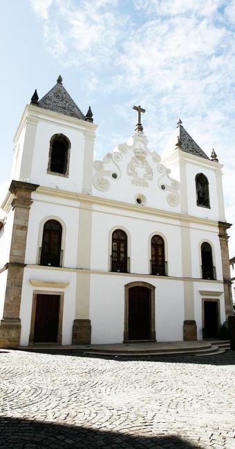 A Igreja da Barroquinha foi erguida em 1726 e virou espaço cultural em 2009 - Foto: Luciano da Matta | Ag. A TARDE