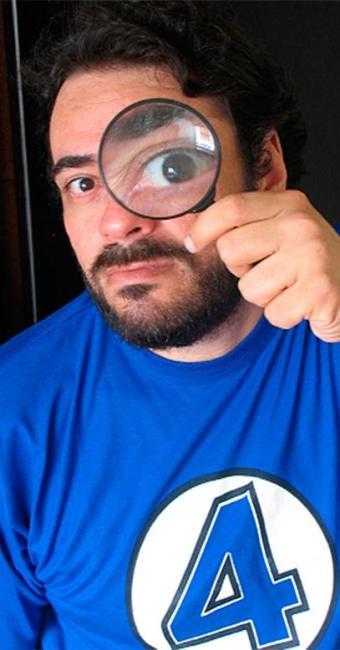 João Carlos Sampaio era conhecido pelos amigos como uma pessoa querida e brincalhona - Foto: Auto-retrato de João Carlos Sampaio
