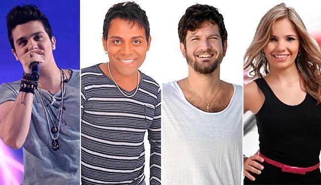 Luan Santana, Pablo, Saulo e banda Magníficos são algumas das atrações da festa - Foto: Reprodução
