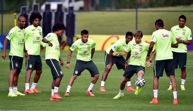 Seleção treinou na tarde deste sábado, na Granja Comary - Foto: Alexandre Loureiro | Vipcomm