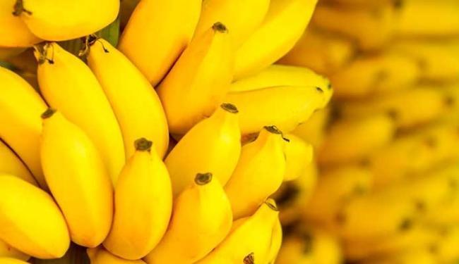 Banana é fruta com substâncias que são fundamentais para o organismo - Foto: Divulgação