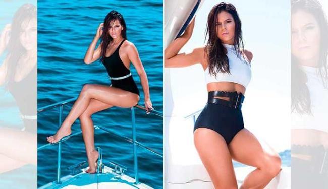Bruna Marquezine posou em um iate - Foto: Divulgação | Boa Forma