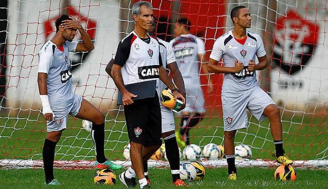Amadeu assume e inicia preparação do time para a partida de domingo - Foto: Eduardo Martins   Ag. A TARDE