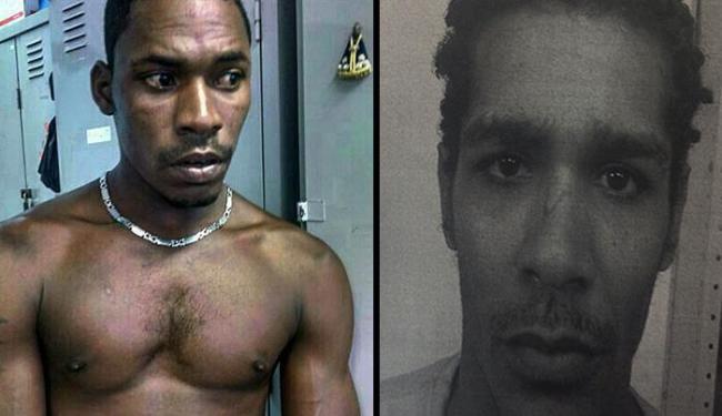DKA e Evandro são apontados pela polícia como os executores da chacina - Foto: Ascom   Polícia Civil