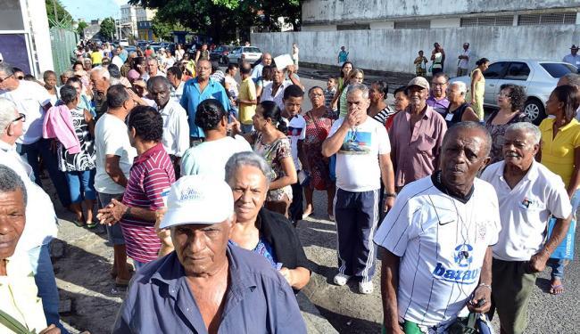 Com maioria de idosos, pacientes aguardam atendimento em vão - Foto: João Ubaldo | Cidadão Repórter