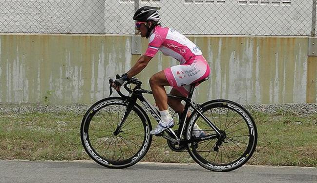 Cristiane confessa que a sua vida social se resume a bike, provas e trabalho - Foto: Arquivo pessoal