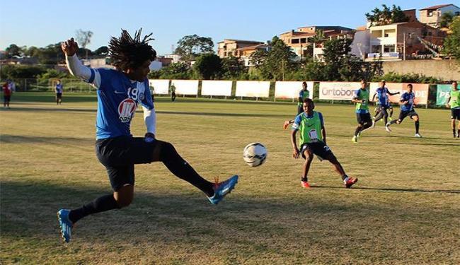 William Barbio pode ganhar a vaga de titular na equipe - Foto: Divulgação l E.C. Bahia