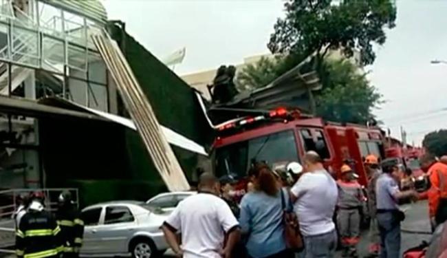 Acidente deixou dois mortos e ao menos nove feridos - Foto: Reprodução   TV Globo