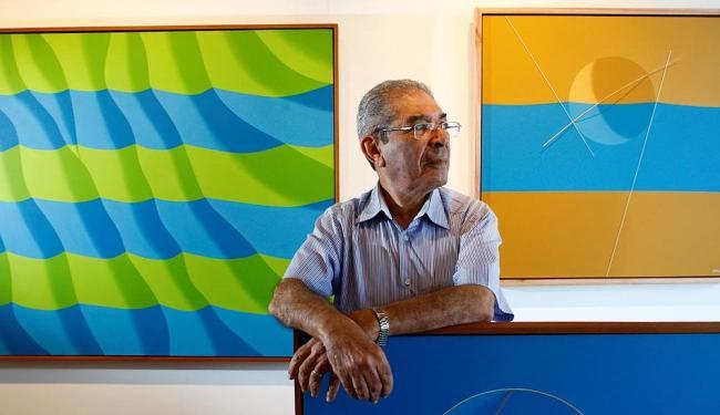 Após 12 anos sem fazer uma exposição, Jamison apresenta 30 novos trabalhos - Foto: Fernando Vivas | Ag. A TARDE