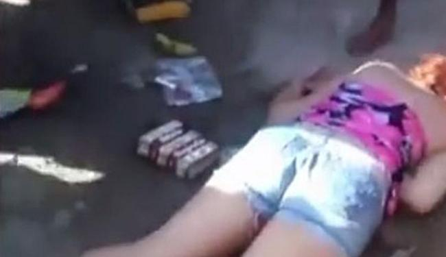Fabiane foi espaqncada até a morte por moradores do Guarujá - Foto: Reprodução   YouTube