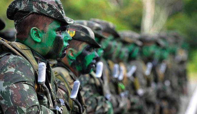 Serão 2.300 homens das Forças Armadas na Bahia durante a Copa - Foto: Divulgação   Forças Armadas