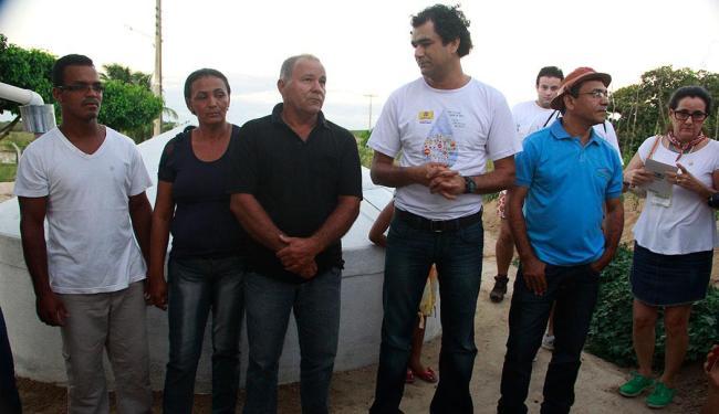 Família, Ismael da Silva, que recebeu cisterna em Santo Antônio-RN - Foto: Divulgação