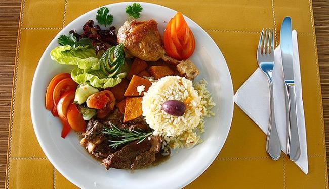 Estudo usou fotos como a deste prato de forma a estimular hábitos saudáveis - Foto: Iracema Chequer | Ag. A TARDE