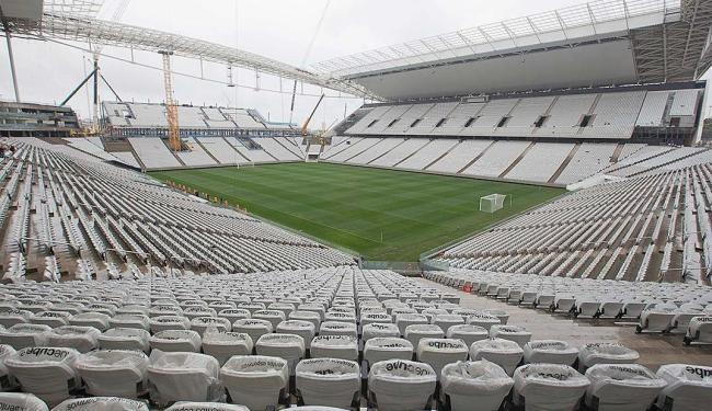 Arena do Corinthians será palco da abertura da Copa dia 12 de junho - Foto: AP Photo