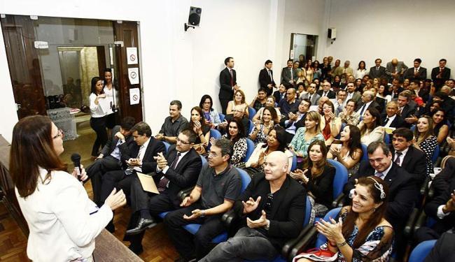 Assembleia realizada na sexta-feira, 30, por juízes do primeiro grau - Foto: Margarida Neide | Ag. A TARDE