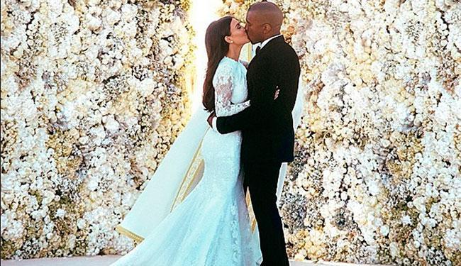 Kim Kardashian e Kanye West se casaram na Itália - Foto: Reprodução   Instagram