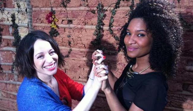 Liliane Reis e Larissa Luz batem um papo descontraído sobre música, carreira e projetos - Foto: TV Brasil | Divulgação