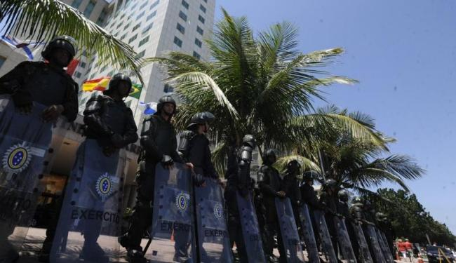 Cerca de 2.300 militares da Marinha, Exército e Aeronáutica devem chegar em Salvador - Foto: Agência Brasil