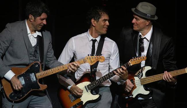 Leoni, Dado Villa-Lobos e Liminha estão na banda cover dos Beatles - Foto: Duda Leal   Divulgação