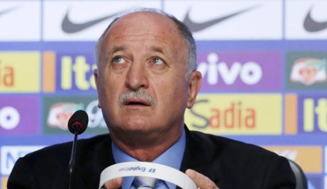 O técnico Luiz Felipe Scolari fez a convocação para a Seleção Brasileira - Foto: Ag. Reuters