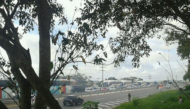 Local deve estar sinalizado e equipes da Bahia Norte devem orientar os motoristas na ocasião - Foto: Roberto Lima | Cidadão Repórter