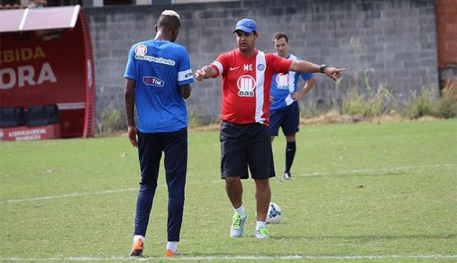 Marquinhos Santos comando treino no CT do Flamengo - Foto: | Ag. A TARDE