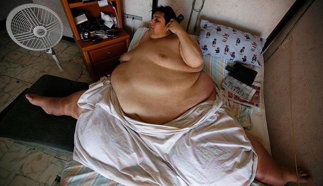 Manuel Uribe chegou a pesar 597 quilos - Foto: Agência Reuters