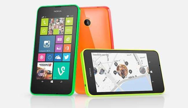 Lumia 630 terá versões com um e dois chips - Foto: Divulgação