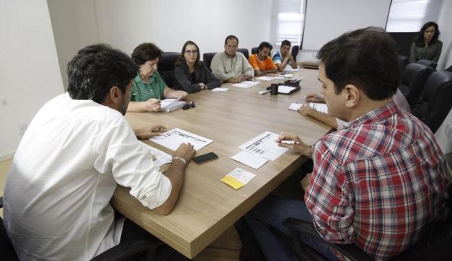 Reunião nesta segunda selou parceria entre veículos nas Eleições 2014 - Foto: Edílson Lima | Ag. A TARDE