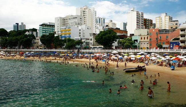 Praias são os principais atrativos para turistas estrangeiros - Foto: Fernando Vivas   Ag. A TARDE
