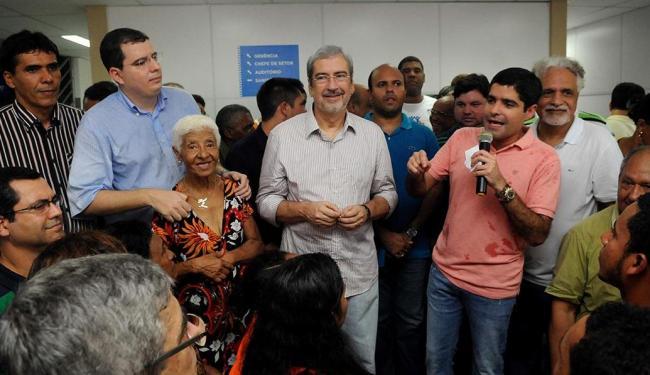 Neto falou sobre a importância da unidade, que é a 3ª das dez que estão previstas - Foto: Angelo Pontes   Divulgação