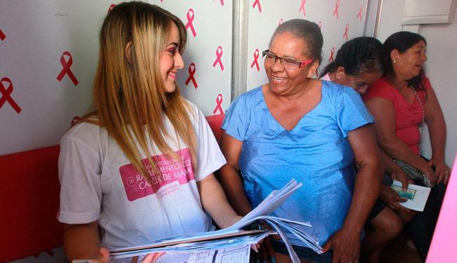 Atendimento é votlado a mulheres de 50 a 69 anos, que fazem parte do grupo de risco da doença - Foto: Carol Garcia | GovBA